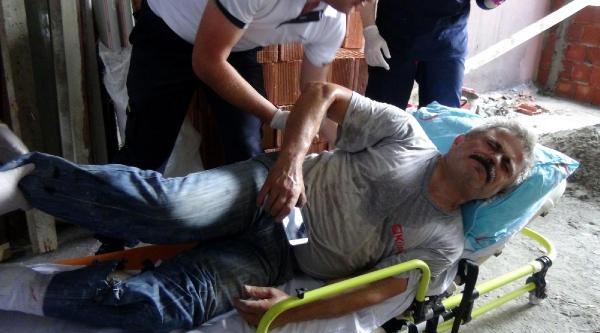 Okul Tadilatında Ayağını Kesen İşçi Yaralandı