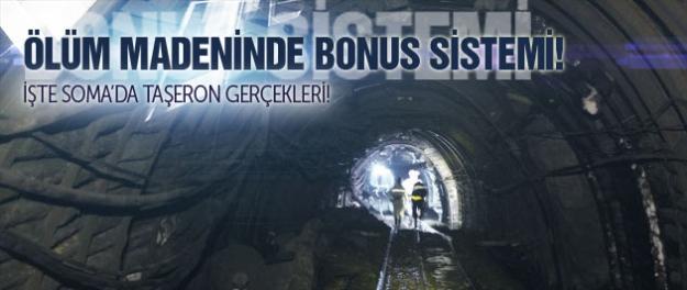 Ölüm madeninde bonus sistemi!