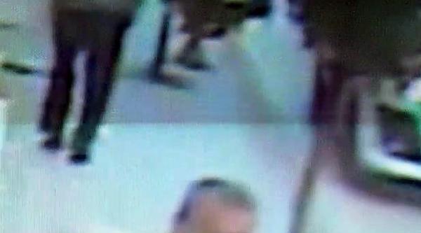 Ordu'da Bıçaklı Saldırıyı Güvenlik Kamerası Kaydetti