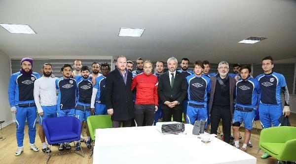 Orduspor'a Belediye Başkan Adayı Yılmaz'dan Moral