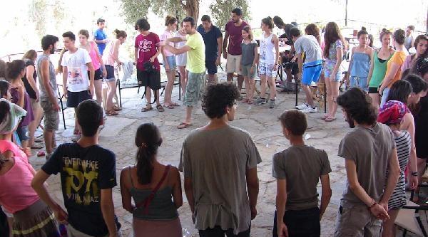 Örenciler Bafa'daki Kampta Buluştu