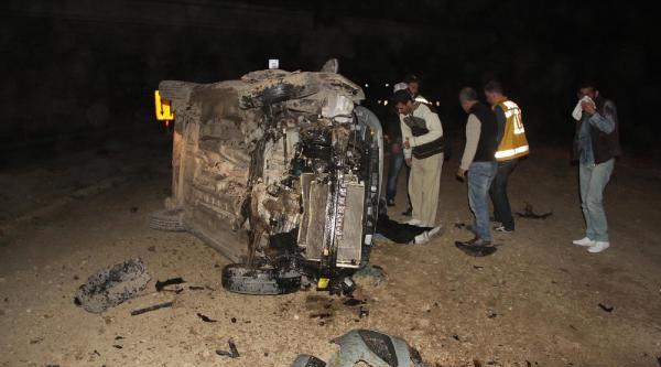 Orhangazi'de Otomobil Takla Attı: 5 Yaralı