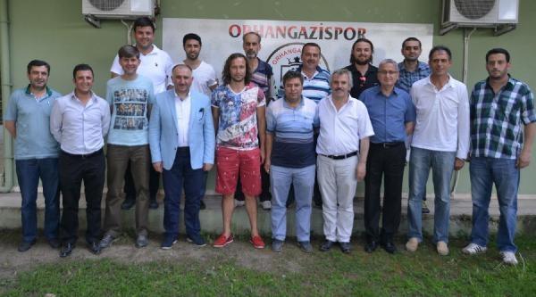 Orhangazispor'un Kalesi Yavuz Eraydın'a Teslim