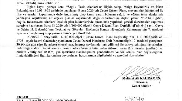 Orman Ve Mera Alanina Eğitim Kapmusu Onayi Ankara'Dan Geldi