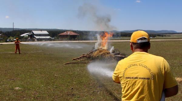 Ormancılar Yangınlara Hazırlanıyor