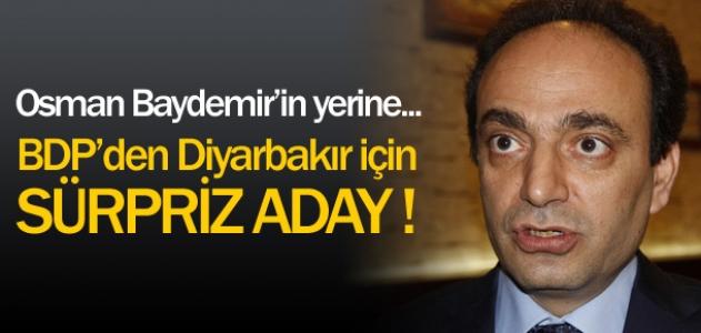 Osman Baydemir'in yerine... Bdp' den Diyarbakır için süpriz aday!