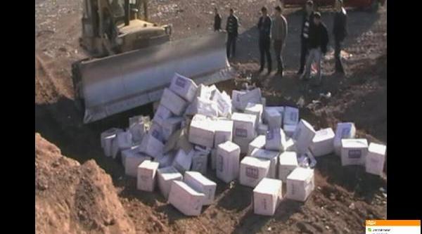 Osmaniye'de 3 Milyon Paket Kaçak Sigara Imha Edildi