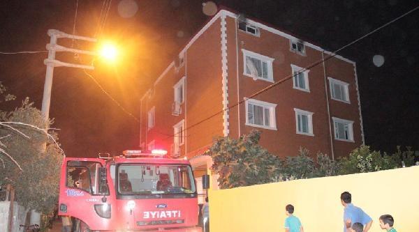 Osmaniye'de Öğrenci Yurdunda Yangın