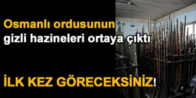 Osmanlı Ordusunun Gizli Hazinesi