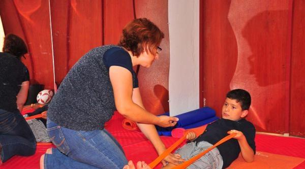 Otizmli Oğlu İçin Spor Salonu Açtı