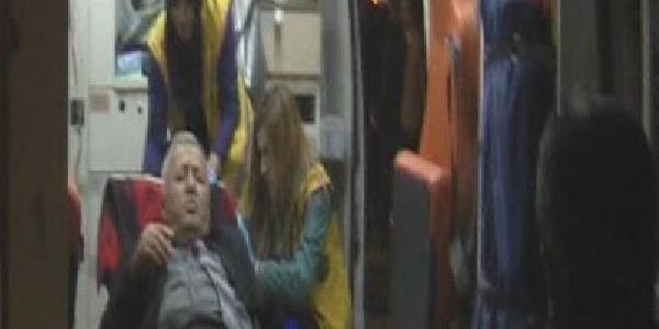 Otobüs Beklerken Bacağindan Vuruldu