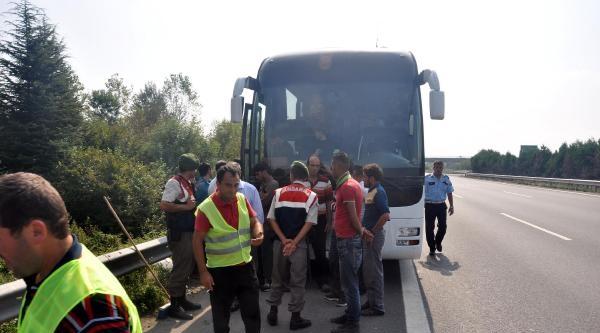 Otobüste Yer Olmayınca Mülteciler Bagajda Yolculuk Yapmış