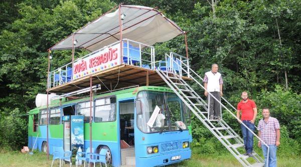 Otobüsü Restorana Çevirdiler: Zuğa Kebabüs Hizmetinizde