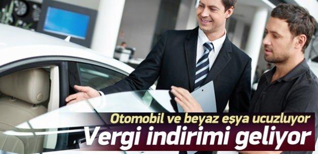 Otomobil ve beyaz eşyada ÖTV indirimi geliyor