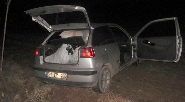 Otomobilde 62 Kilo Esrar Ele Geçirildi