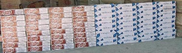 Otomobilde 8 Bin 500 Paket Kaçak Sigaraya 1 Gözaltı