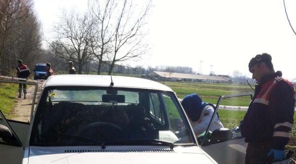 Otomobili İçerisinde Ölü Bulundu