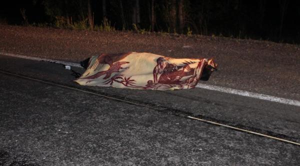 Otomobilin Çarptiği Eşek Üzerindeki Köylü Öldü