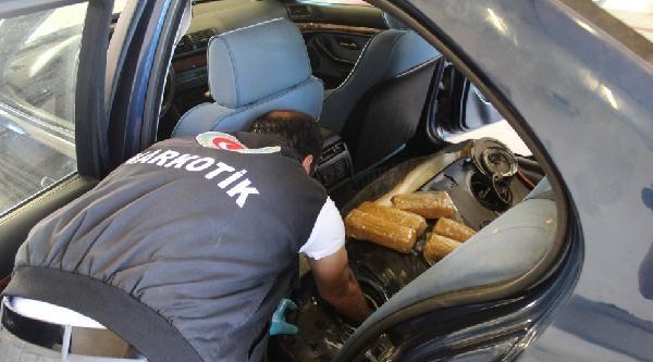 Otomobilin Yakıt Deposundan 11 Kilo Eroin Çikti