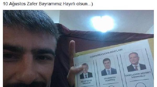 Oy Veren, Sosyal Medyada Paylaşıyor