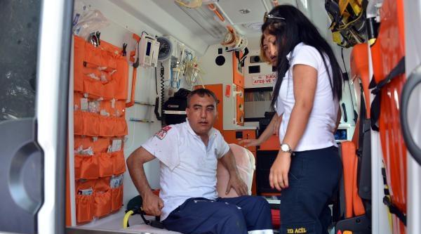 Özel Güvenlik Görevlileri, Ambulans Şoförünü Hastanelik Etti
