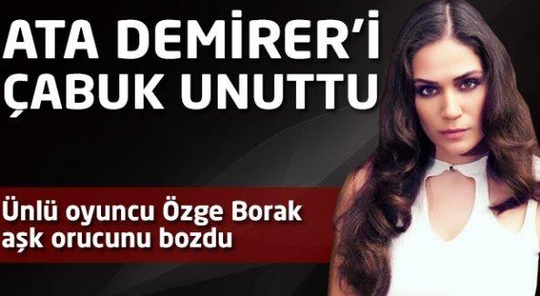 Özge Borak'la ilgili bomba aşk iddiası