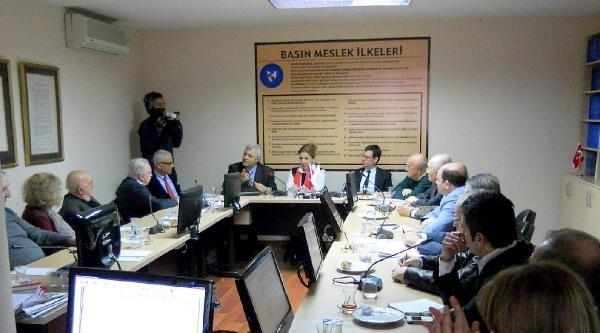 Özkan Ve Yanardağ'dan Basın Konseyi'ne Teşekkür Ziyareti