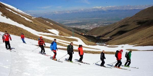 Palandöken'de Mayıs Ayında Kayak