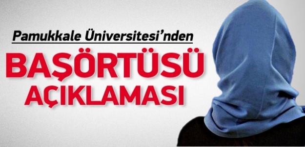 Pamukkale Üniversitesi o haberi yalanladı
