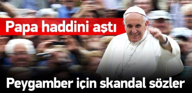Papa'dan skandal Hz.Adem açıklaması!