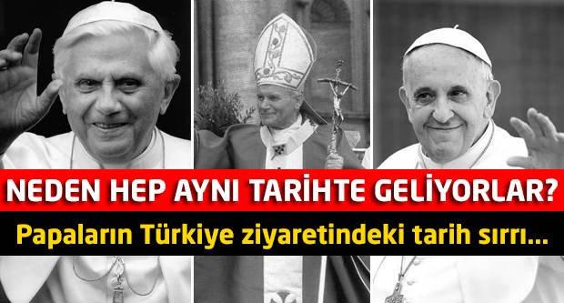 Papalar neden hep aynı tarihte geliyor?