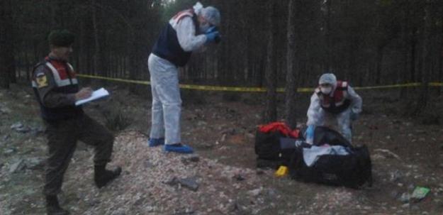 Parçaladığı cesedi valizle taşırken yakalandı!