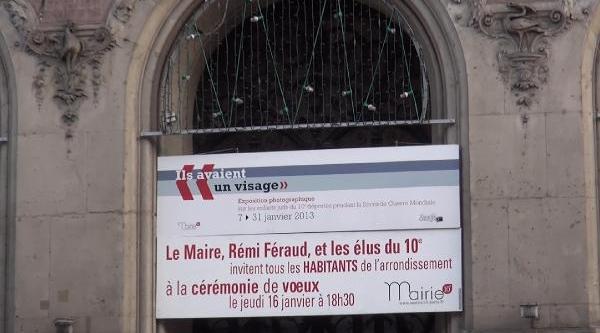Paris 10'uncu Belediyesi Öldürülen 3 Pkk'li Kadinin Fotoğraflarini Belediye Binasina Asti
