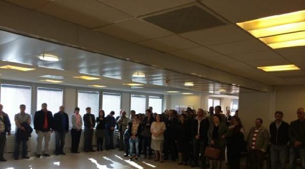 Paris Büyükelçiliği'nde 'soma' İçin Anma Töreni