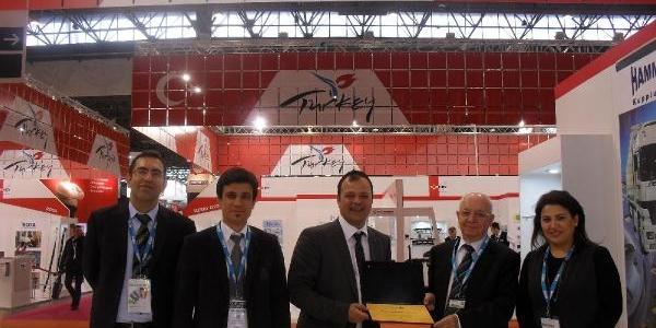 Paris Equip Auto 2013 Fuari'Nda 'türk Rüzgari'