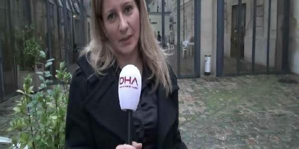 Paris'te 'emine Çetin Bozkurt'a Tehdit Davasi'