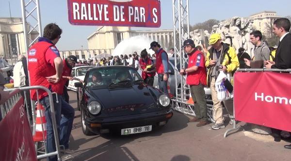 Paris'te Nostaljik Ralli