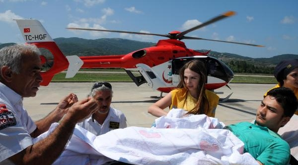 Parmakları Kopan Gence Ambulans Helikopter (2) - Yeniden