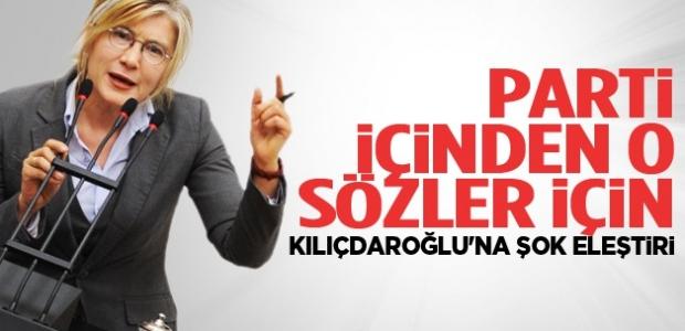 Parti içinden o sözler için Kılıçdaroğlu'na şok eleştiri!