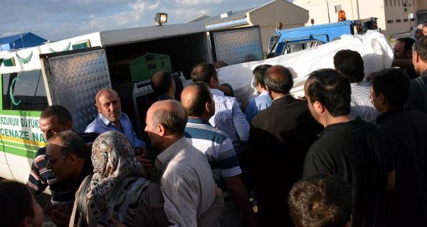 Patlamada Hayatını Kaybeden Eda'nın Cenazesi Erzurum'a Getirildi