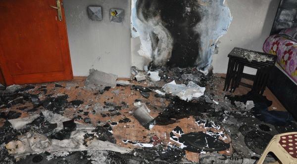 Patlayan Televizyon Tüpü Yangına Neden Oldu