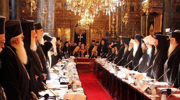 Patrik Ve Başpiskoposlar İstanbul'da Buluştu