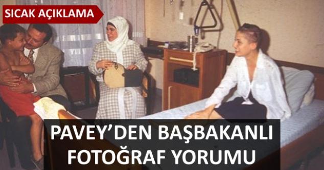 Pavey'den Erdoğanlı fotoğraf yorumu...