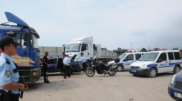 Payas'ta Tır Garajına Kaçak Mazot Baskını