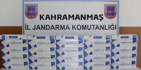 Pazarcık'ta Kaçakçılık Operasyonu: 10 Gözaltı