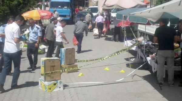 Pazarda Pompalı Tüfekli Saldırı: 2 Yaralı