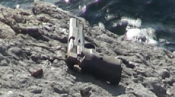 Pendik'te Denizden Silah Çikti