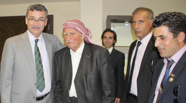 Perver'in Babası Ak Partili Büyükşehir Belediye Başkanını Ziyaret Etti
