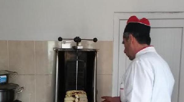 Peynirden Döner Yapıldı