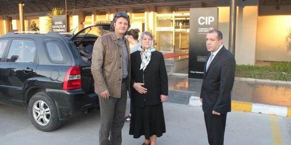Pilotlarin Ailesi Istanbul'A Uçtu